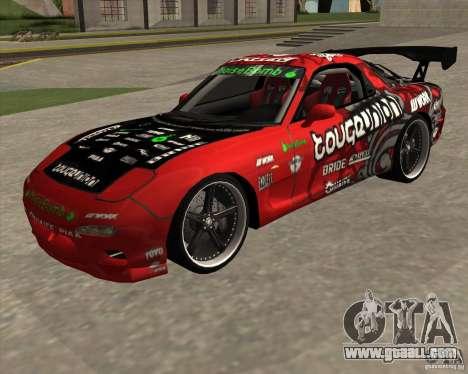 Mazda RX-7 drift king for GTA San Andreas