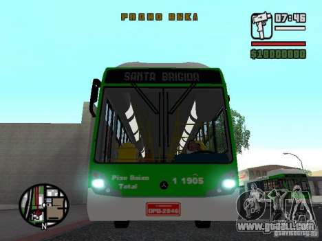 H Hibrido TUTTO 15M UPB C2 EX DR for GTA San Andreas inner view