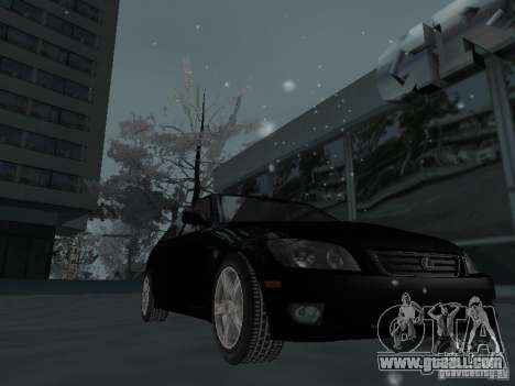 Lexus IS300 for GTA San Andreas upper view