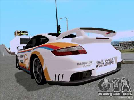 Porsche 997 GT2 Fullmode for GTA San Andreas back left view