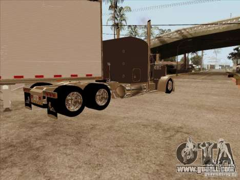 Peterbilt 379 Custom for GTA San Andreas back left view