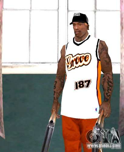 Replacement bands, tattoos, clothing, etc. for GTA San Andreas seventh screenshot