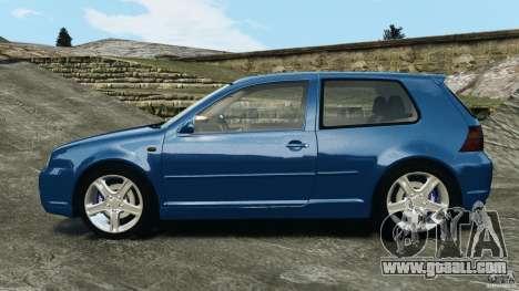 Volkswagen Golf 4 R32 2001 v1.0 for GTA 4 left view