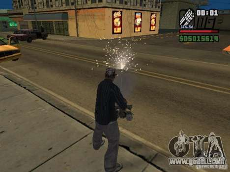 New Realistic Effects for GTA San Andreas second screenshot