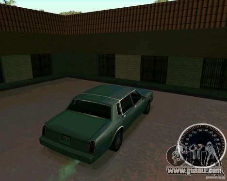Speedometer for GTA San Andreas second screenshot