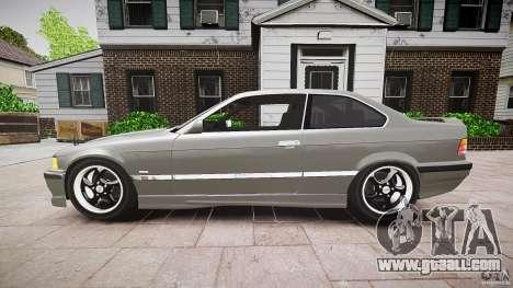 BMW E36 328i v2.0 for GTA 4 left view