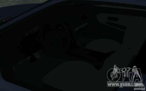 Nissan Onevia (Silvia) S13 for GTA San Andreas inner view