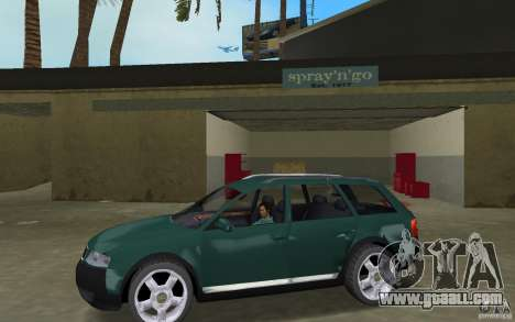 Audi Allroad Quattro for GTA Vice City left view