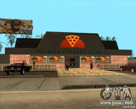 New pizzeria in IdelWood for GTA San Andreas