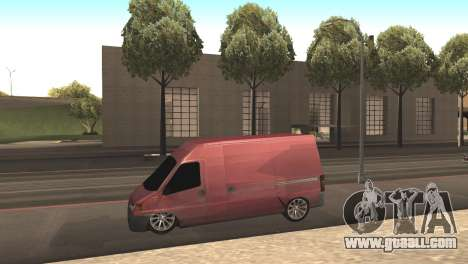 Peugeot Boxer for GTA San Andreas left view