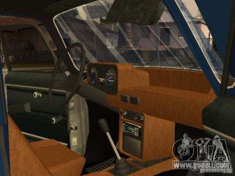 Moskvich 412-4 x 4 for GTA San Andreas side view
