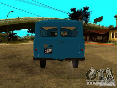 UAZ 450А for GTA San Andreas right view