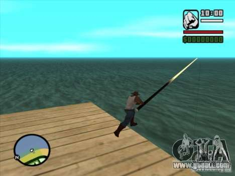 Fishing for GTA San Andreas