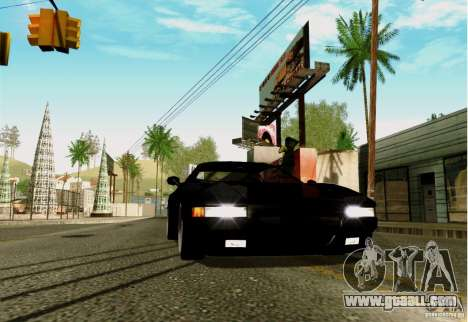 ENBSeries FS by FLaGeR v 1.0 for GTA San Andreas second screenshot
