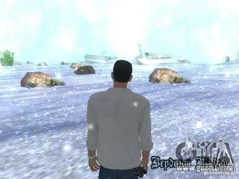 Snow MOD HQ V2.0 for GTA San Andreas third screenshot