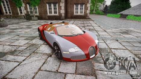 Bugatti Veyron Grand Sport [EPM] 2009 for GTA 4