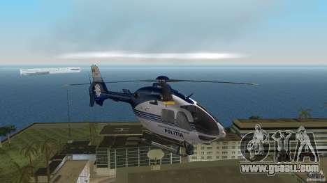 Eurocopter Ec-135 Politia Romana for GTA Vice City