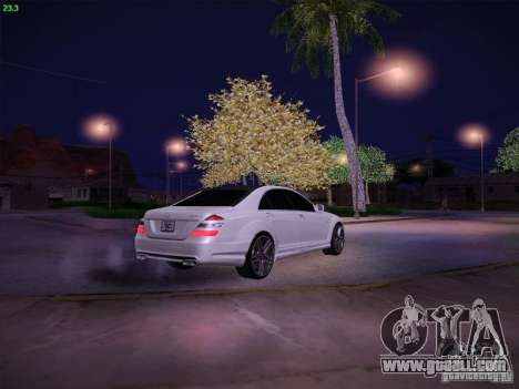Mercedes-Benz S65 AMG V2.0 for GTA San Andreas side view