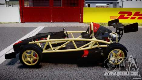 Ariel Atom 3 V8 2012 for GTA 4 left view
