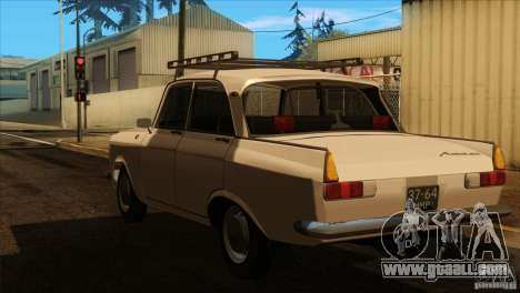 Moskvich 412 v2.0 for GTA San Andreas