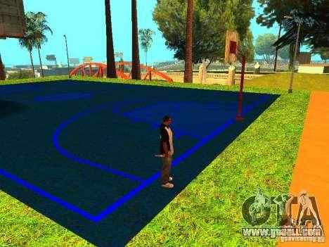 Basketball court for GTA San Andreas
