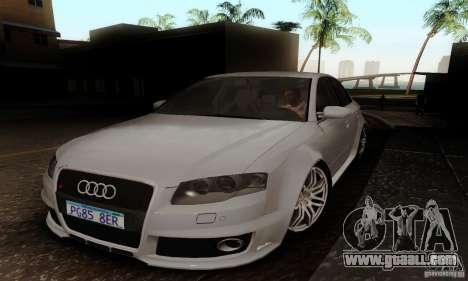 Audi RS4 2007 for GTA San Andreas