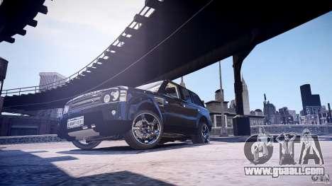 Range Rover Sport for GTA 4 back left view