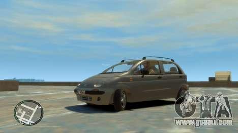 Daewoo Matiz Style 2000 for GTA 4 right view