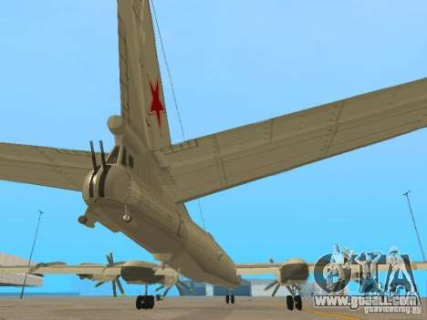 Tu-95 for GTA San Andreas inner view