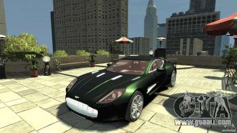 Aston Martin One-77 [EPM] for GTA 4