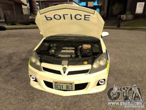 Opel Astra 2007 Police for GTA San Andreas right view
