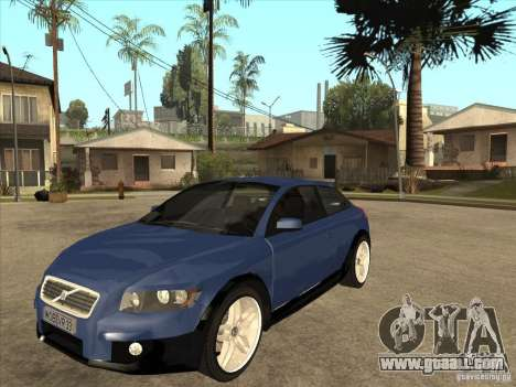 VOLVO C30 Sport 2009 for GTA San Andreas