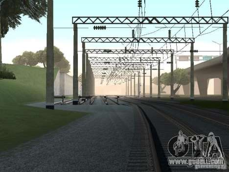 Contact network for GTA San Andreas eighth screenshot