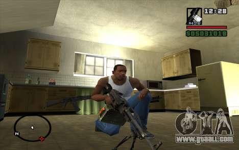 PKP Pecheneg Machine Gun for GTA San Andreas second screenshot