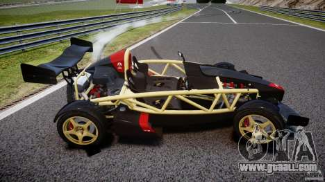 Ariel Atom 3 V8 2012 for GTA 4 side view