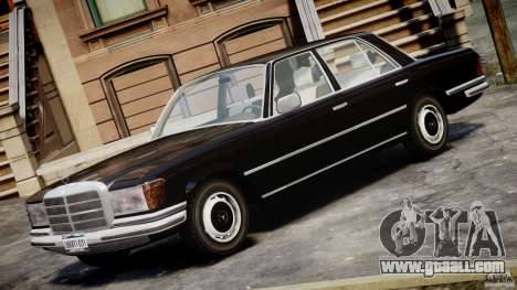 Mercedes-Benz 280SE W116 for GTA 4