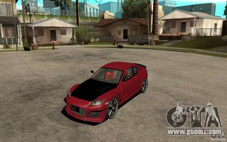 Mazda RX-8 Time Attack JDM for GTA San Andreas