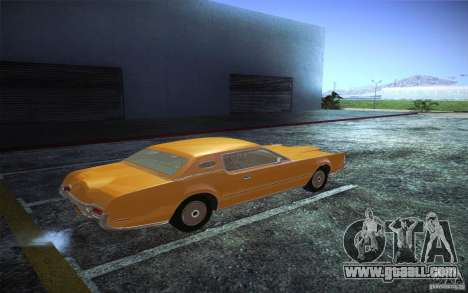 Lincoln Continental Mark IV 1972 for GTA San Andreas right view