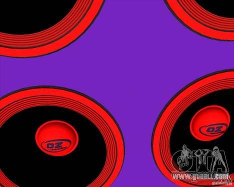 VAZ 2109 Drift for GTA San Andreas side view