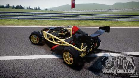 Ariel Atom 3 V8 2012 for GTA 4 upper view