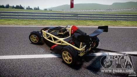 Ariel Atom 3 V8 2012 for GTA 4 upper view