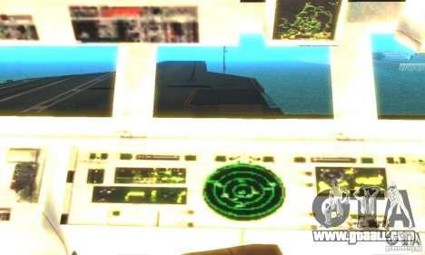 CVN-68 Nimitz for GTA San Andreas third screenshot