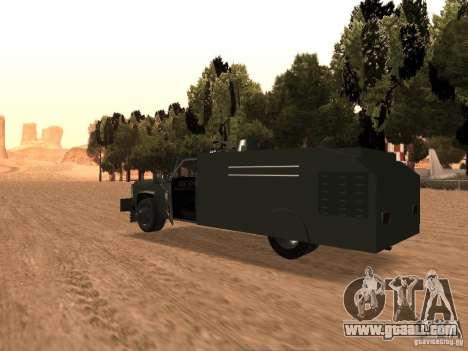 GMC SIERRA 3500 for GTA San Andreas back left view