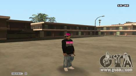 Ballas Skin Pack for GTA San Andreas second screenshot