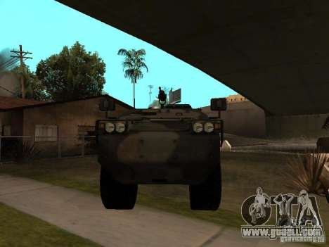 S. w. a. T from Counter Strike Source for GTA San Andreas left view