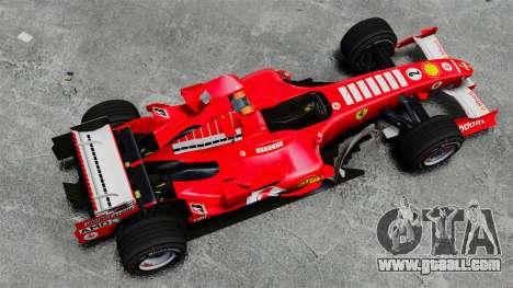 Ferrari F2005 for GTA 4 right view