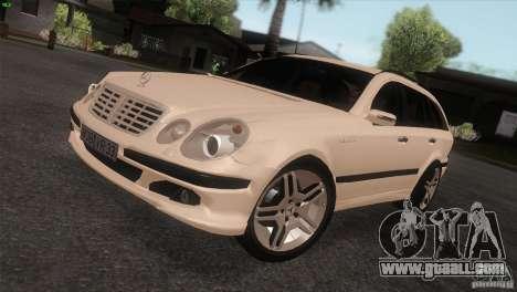 Mercedes-Benz E55 AMG for GTA San Andreas