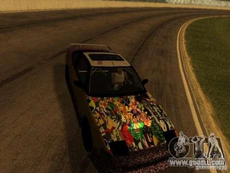 Nissan 240sx Street Drift for GTA San Andreas inner view