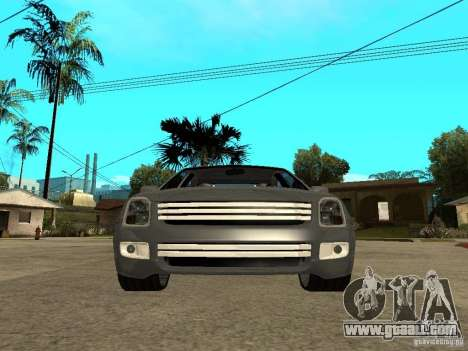 Ford Fusion 2008 Dub for GTA San Andreas right view