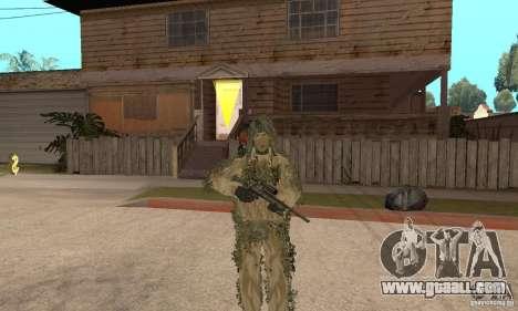 Skin sniper for GTA San Andreas seventh screenshot